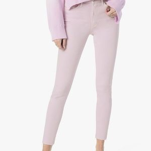 Joes Lavender The Icon Mid Rise Skinny Crop Jeans